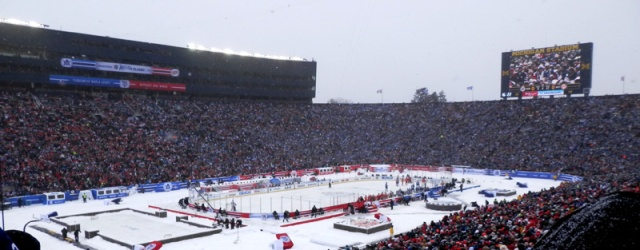 winter classic 2014 stadium view